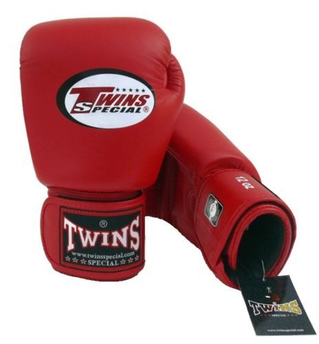 Twins Special Muay Thai MMA Boxing Gloves 8-16 oz BGVL3 Red Training or Sparring