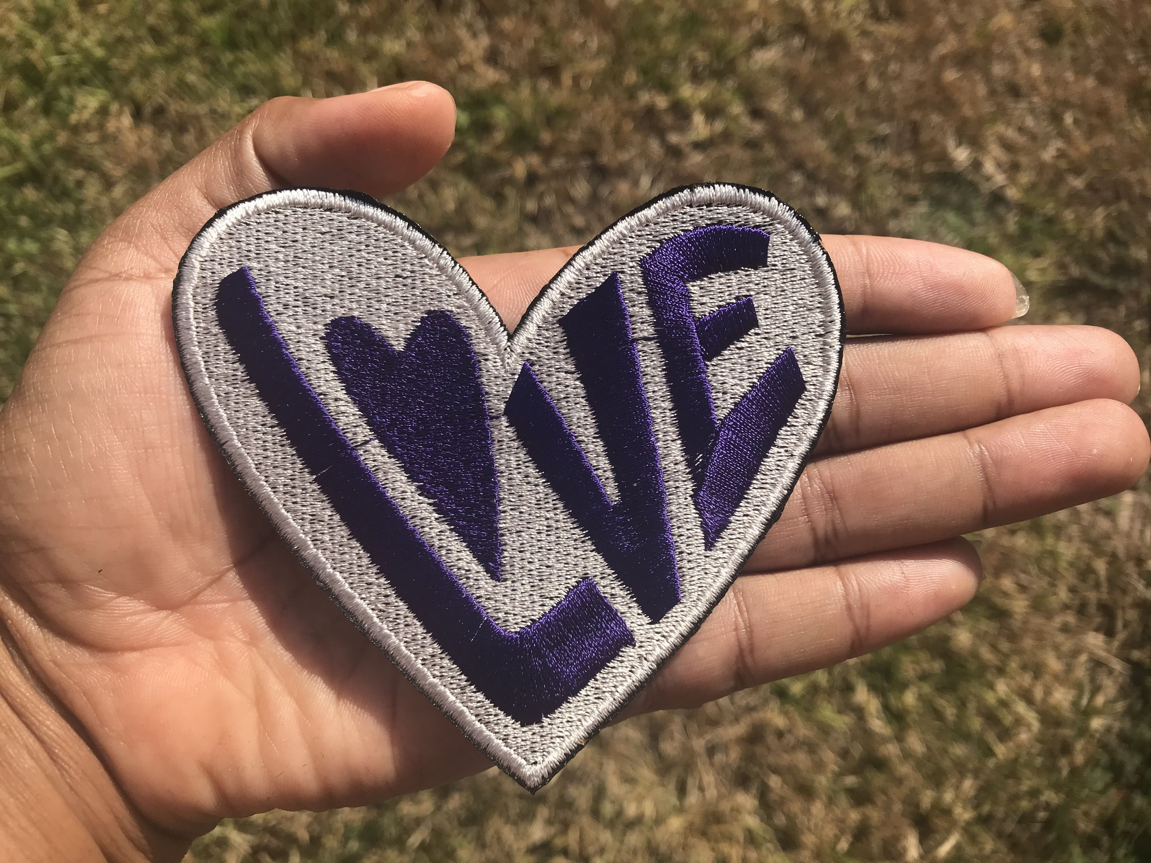Set of Five Rock Sew-on Patches