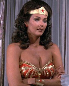 Wonder woman tits something