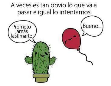 Cactus and Balloon