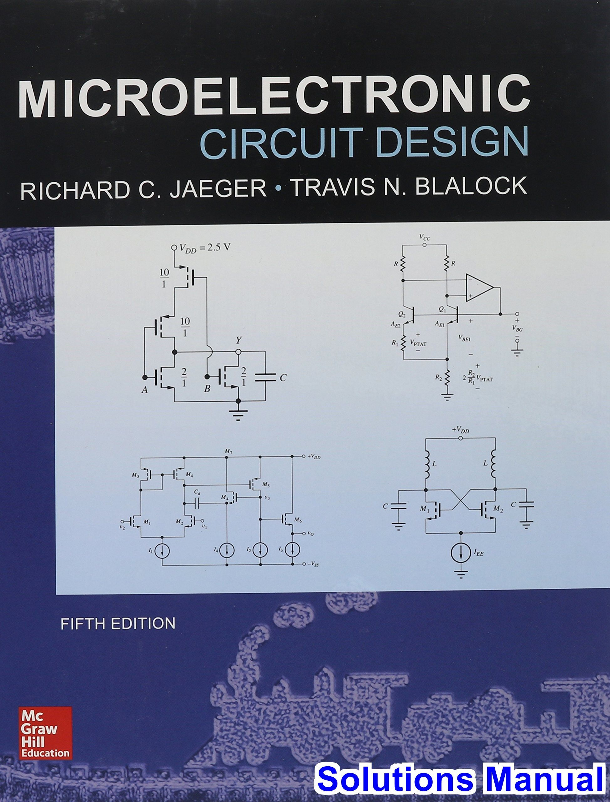 Sedra/smith and dimitrijev package: microelectronic circuits.
