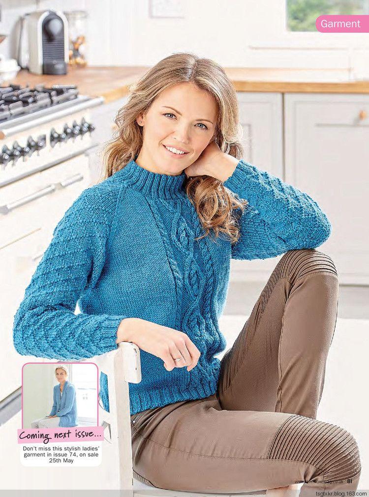 Вязание свитеров с подробной схемой 87