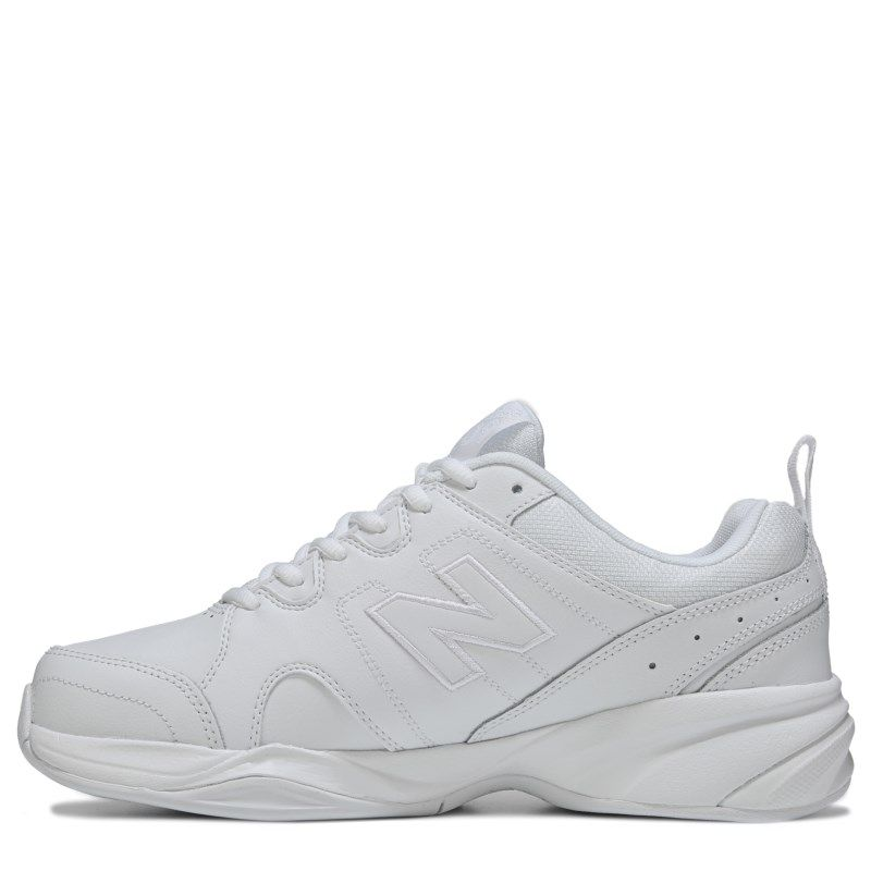 New Balance Men's 609 V3 Memory Sole X-Wide Sneakers (White)