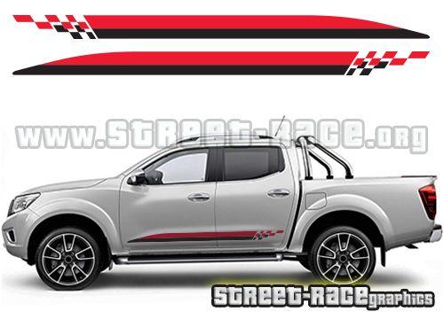 Navara 020 Jpg 500 360 Keppont Calcomanias Para Coches Nissan Frontier Calcomania Para Auto
