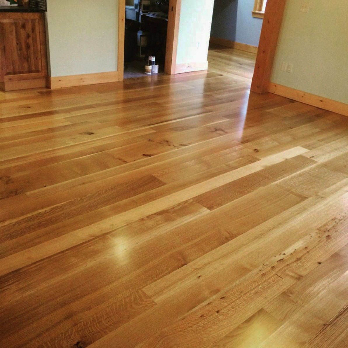 The Best And Easiest White Cabinets With Oak Floors And Trim To Inspire You White Oak Hardwood Floors Wood Floors Wide Plank Hardwood Floor Colors