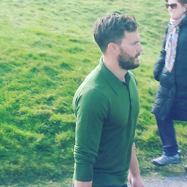 Jamie today at the 3rd round of Alfred Dunhill Links Championship.♥ 10/03/15