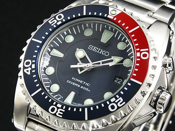 £219.00 セイコー SEIKO キネティック KINETIC 腕時計 ダイバー SKA369P1-1