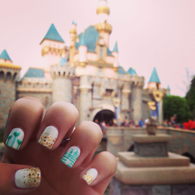 Disneyland Nails …   Pinteres…