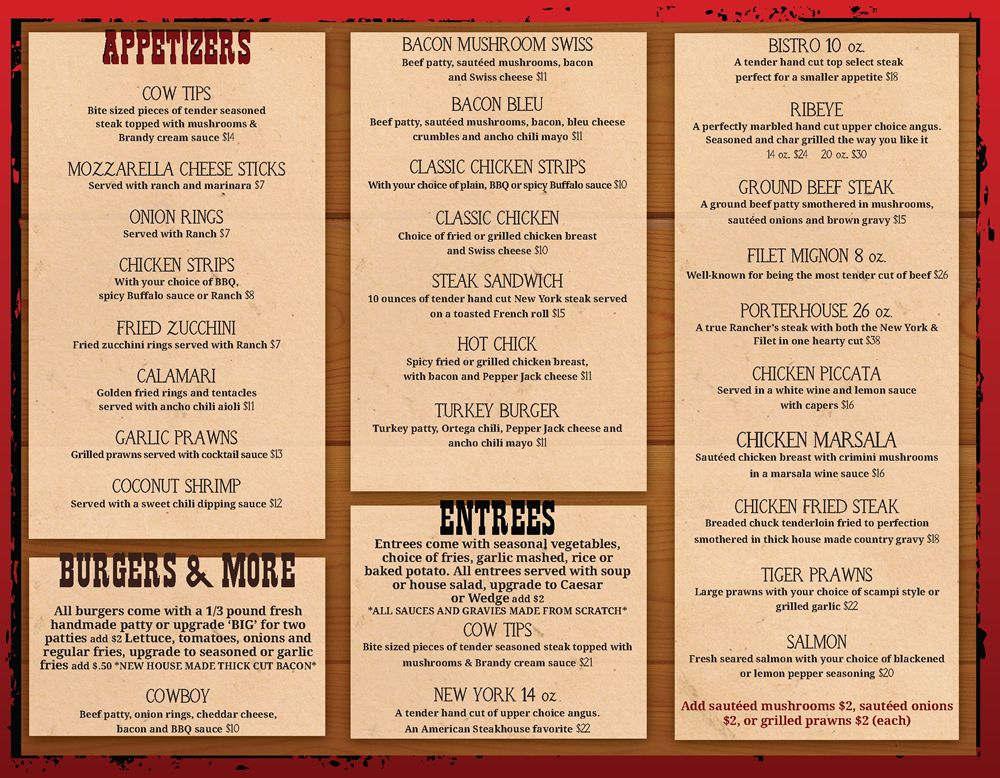 Restaurant To-Go Menu Graphic Design Services Restaurant To-Go - restaurant to go menu