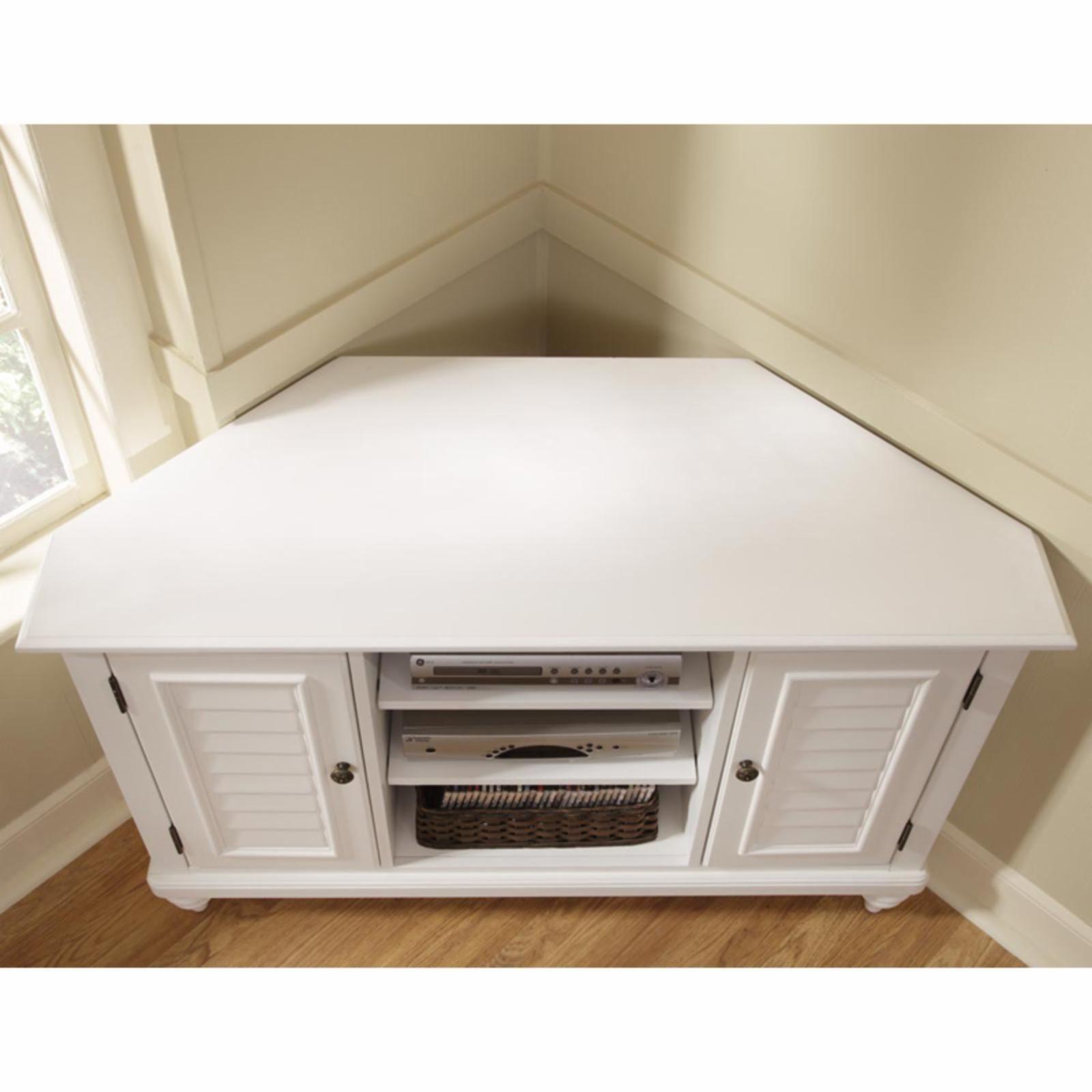 White Corner Tv Cabinet Ideas On Foter In 2021 Corner Tv Cabinets Corner Tv Stands Corner Tv Stand
