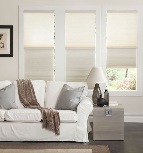 Day Night Cordless Cellular Shade In 2019 Family Room