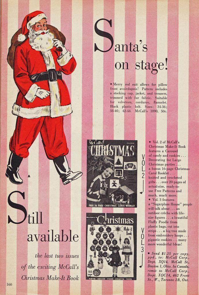 Santa's on stage!