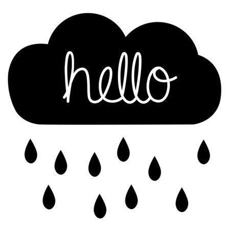 Quadro - Hello Rain - Decohouse