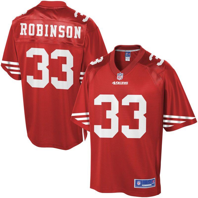 Rashard Robinson San Francisco 49ers NFL Pro Line Youth Player Jersey -  Scarlet dd448b363