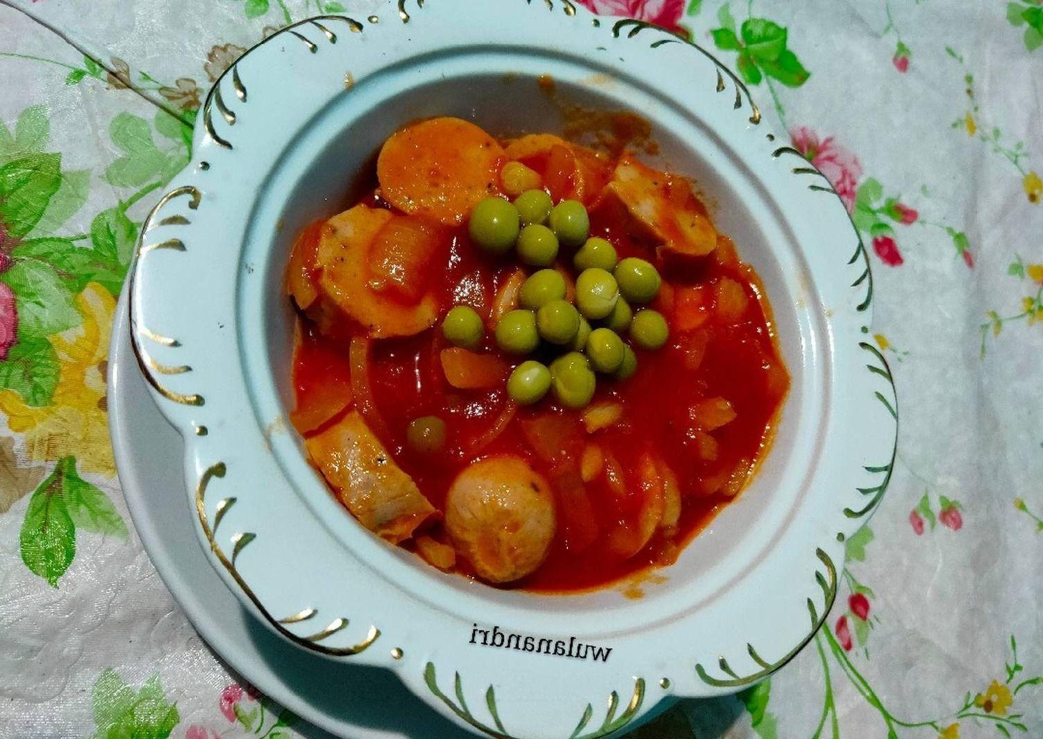 Sup Tomat Sosis 13264774 All Resep Resep Di 2020 Sup Tomat Sosis Masakan