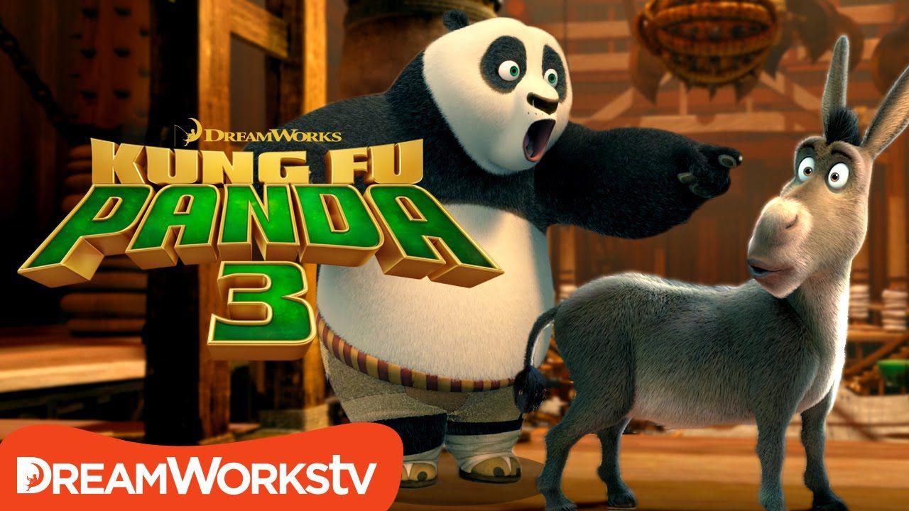 Crazy Crossover! Shrek & Kung Fu Panda?!? KUNG FU PANDA