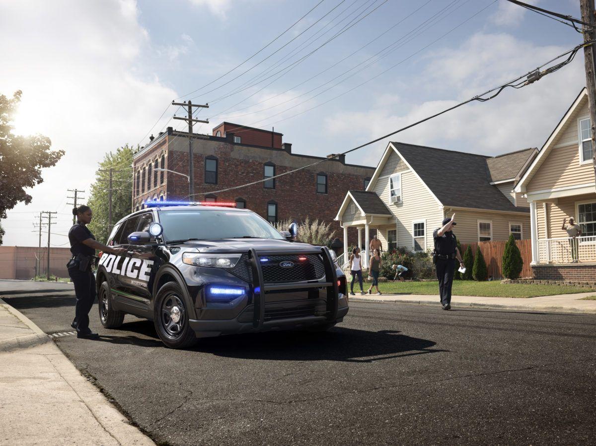 2020 Ford Police Interceptor Ford Police Police Ford Explorer