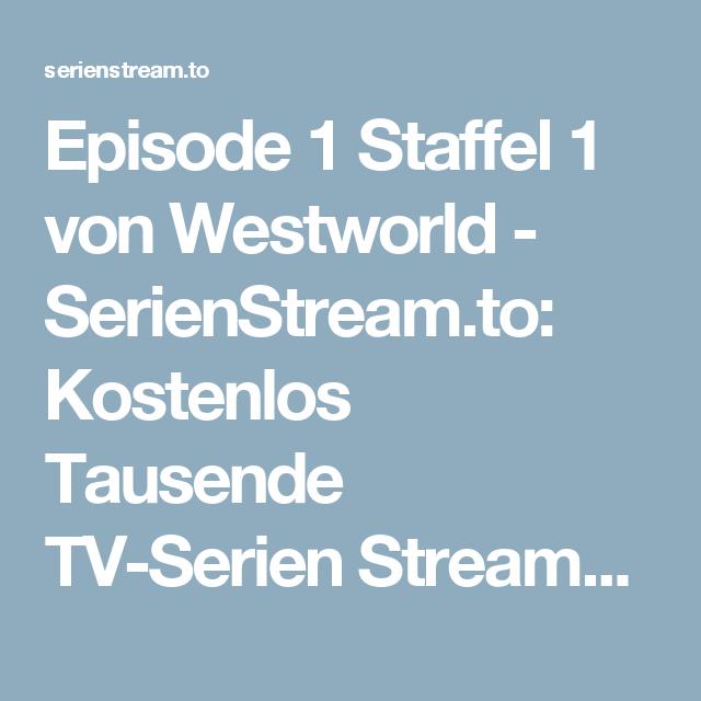 Westworld Serienstream