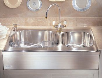 Faucetdepot Com Apron Front Stainless Steel Kitchen Sink Sink Stainless Steel Kitchen Sink