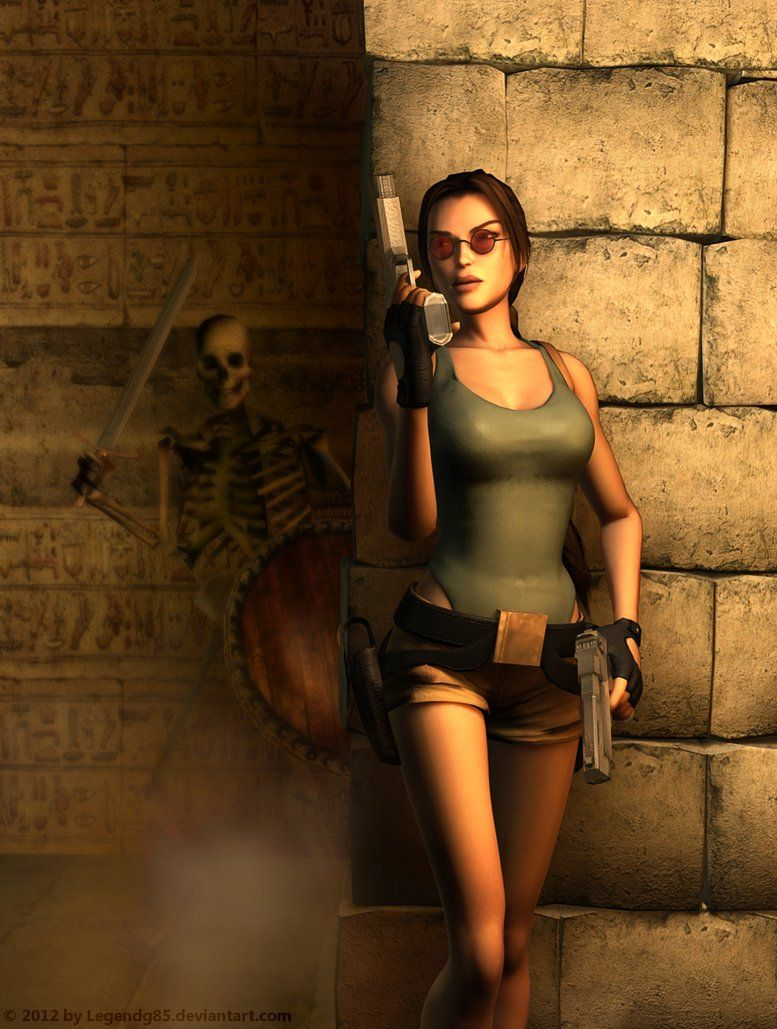 Old School Lara Croft Tomb Raider Games Videojuegos