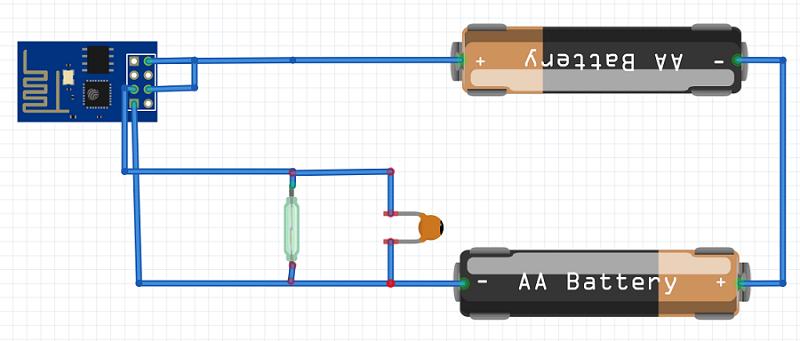 ESP8266 door/window sensor   hobby   Arduino, Arduino