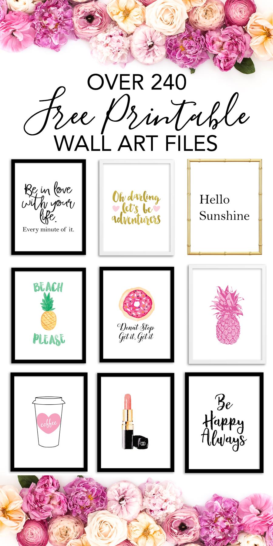 Free Printable Wall Art Choose From Over 240 Printable Art Prints To Print For Home Decor Offic Free Printable Wall Art Wall Printables Printable Art Prints