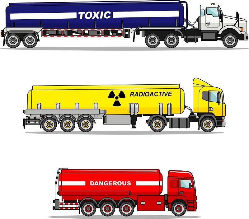 transport of dangerous goods Transportation, Dangerous