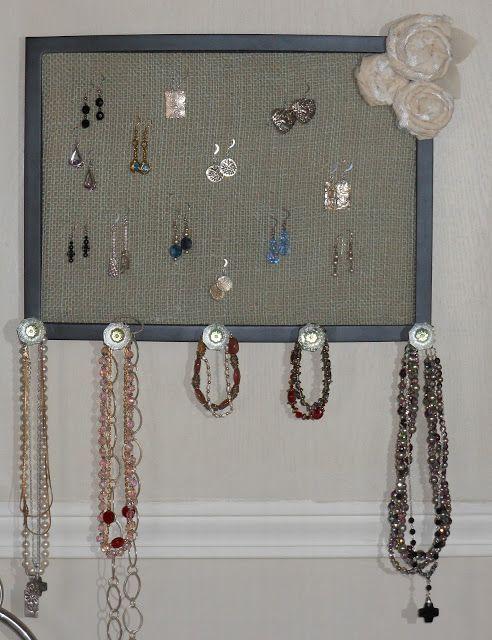 organizador collares y pendientes