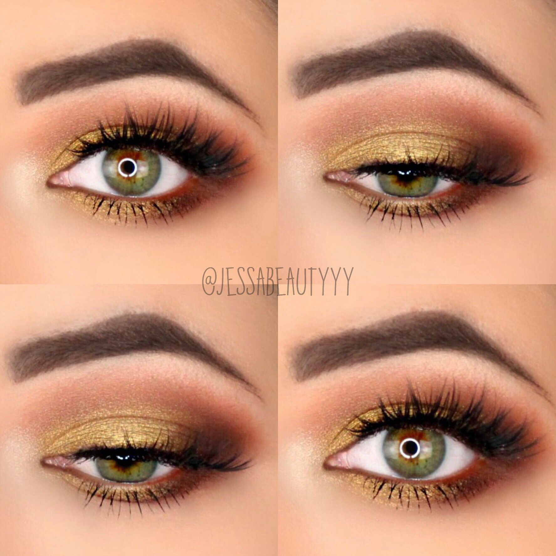 Mustard Yellow Eyeshadow Perfect Makeup Yellow