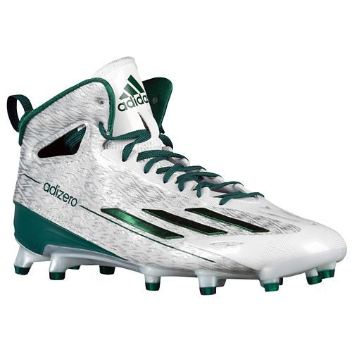 This Eastern Michigan Eagles shoe is colored white and green. Find this Pin  and more on sports shoes by terrysmalls. adidas adiZero 5-Star 4.0 Mid -  Men's
