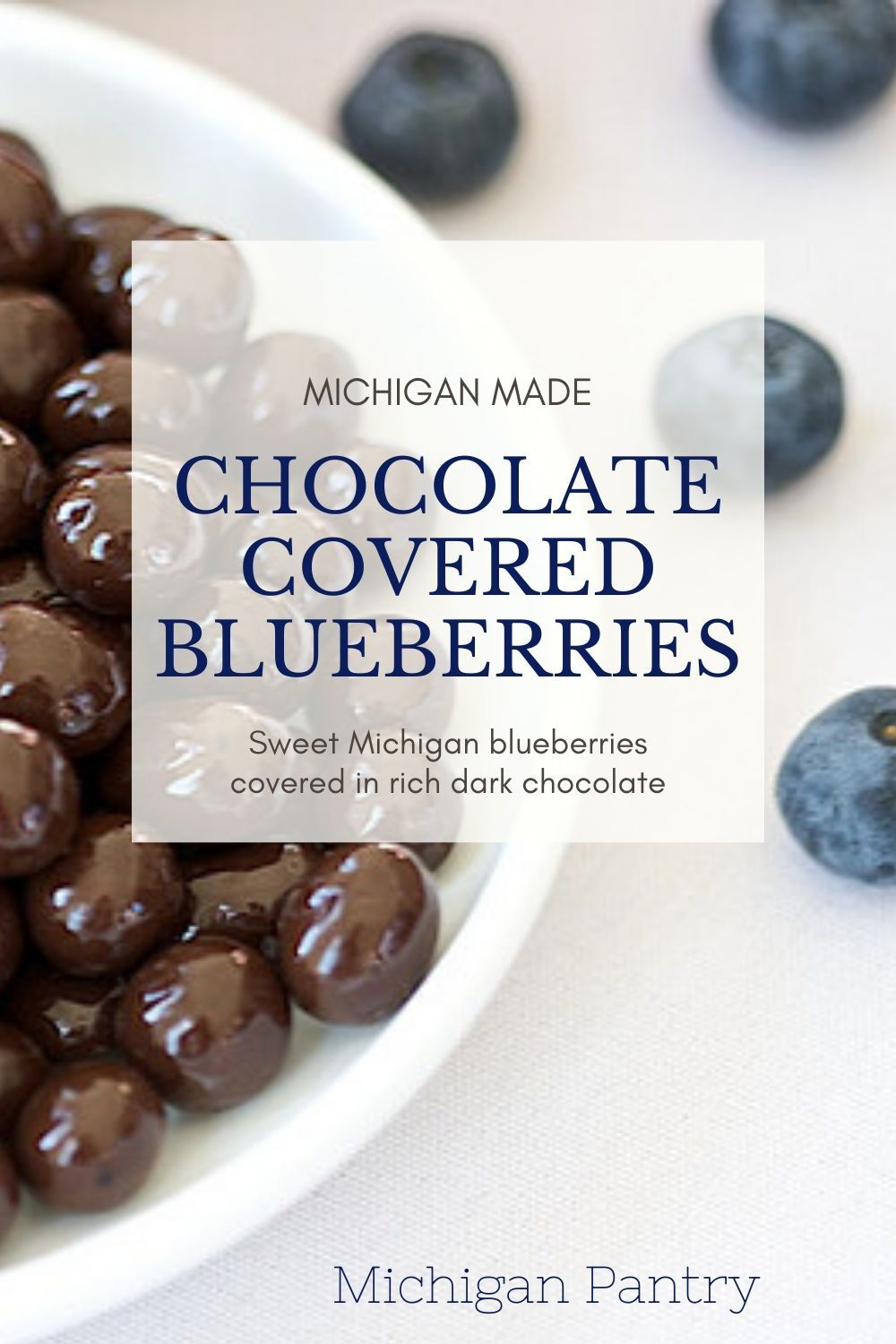 Chocolate blueberries in 2020 chocolate covered
