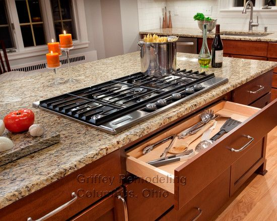 Cooktop In Island Design Ideas Pictures Remodel And Decor Kitchen Remodel Small Kitchen Island With Stove Kitchen Island With Cooktop