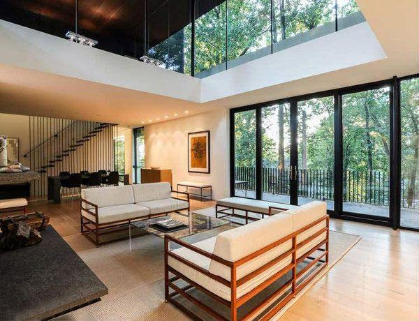 Modern home by david jameson interieur pinterest décoration