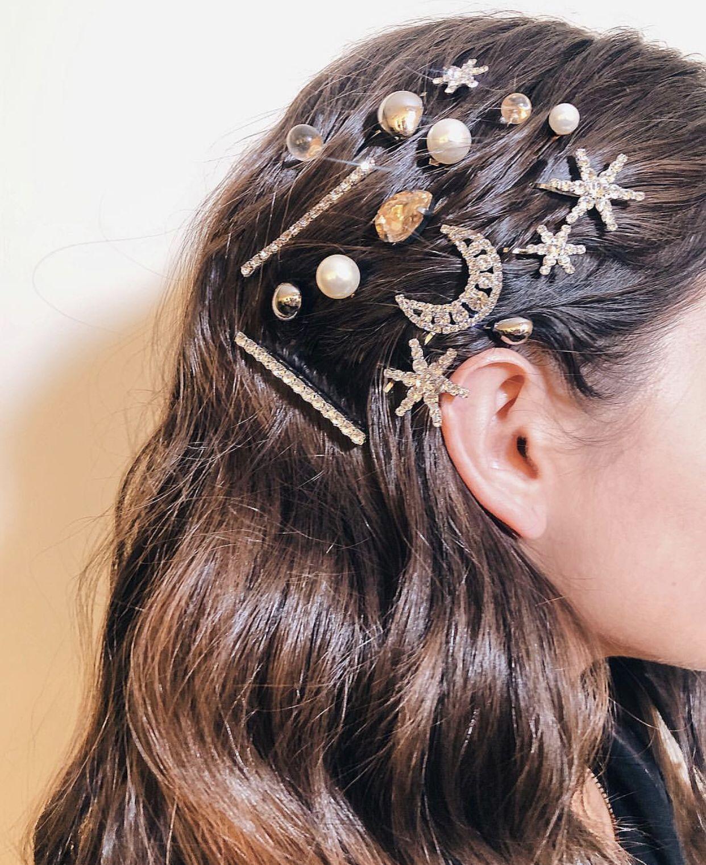 Hair Accessories Glam Bobby Pins Frisuren Haarspangen Haar Styling