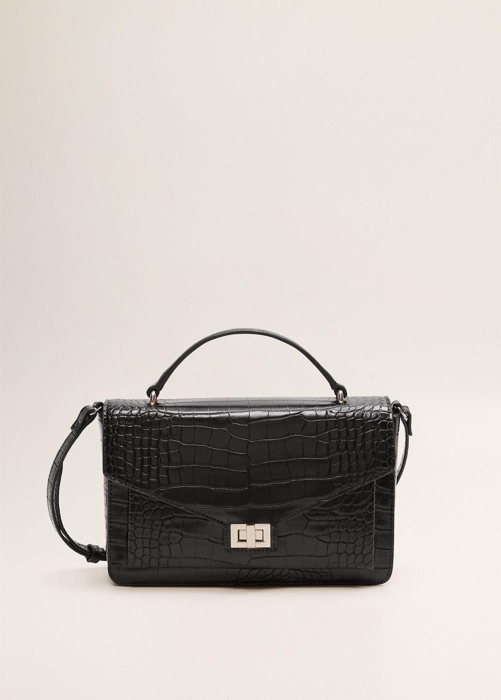 43a74bcbea7 Cross-body croc-effect bag - Women   Workwear   Bags, Hermes ...