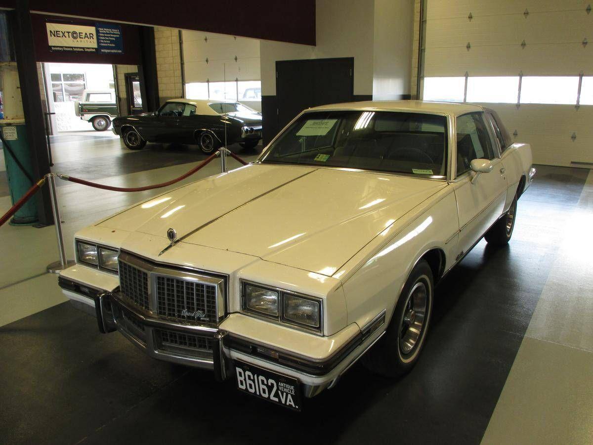 1985 pontiac grand prix brougham