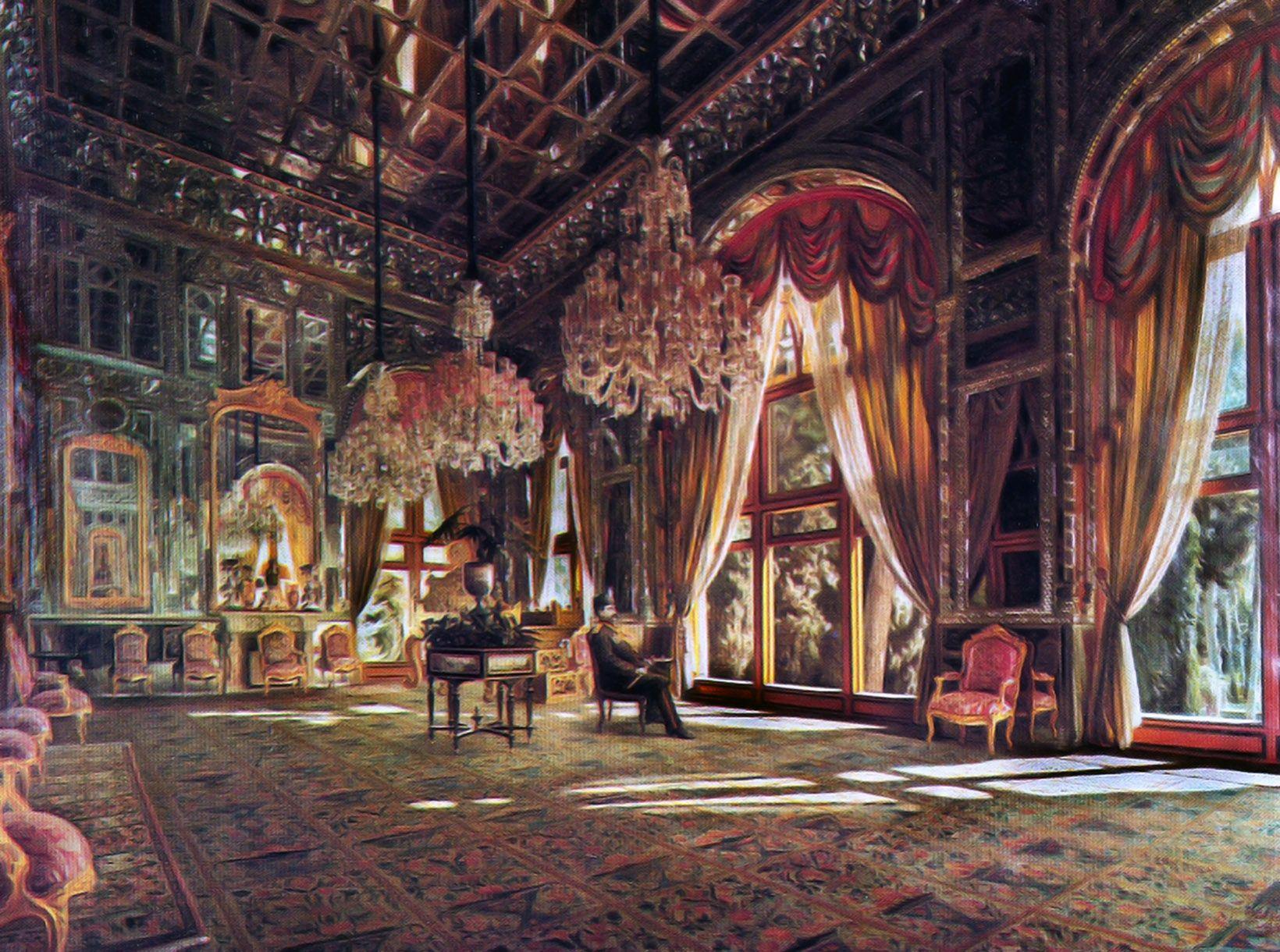 Mirror Hall Golestan Palace Wikipedia Iranian Architecture Iran Persian Culture