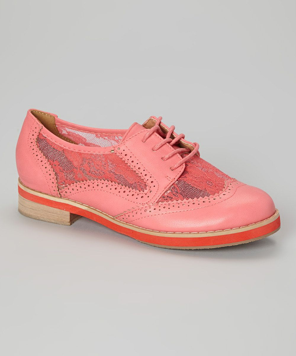 Jacobies footwear coral oxy oxford pants look at and coral