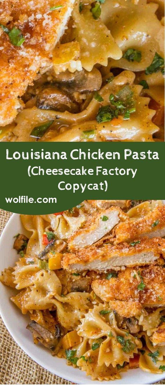 Louisiana Chicken Pasta (Cheesecake Factory Copycat)