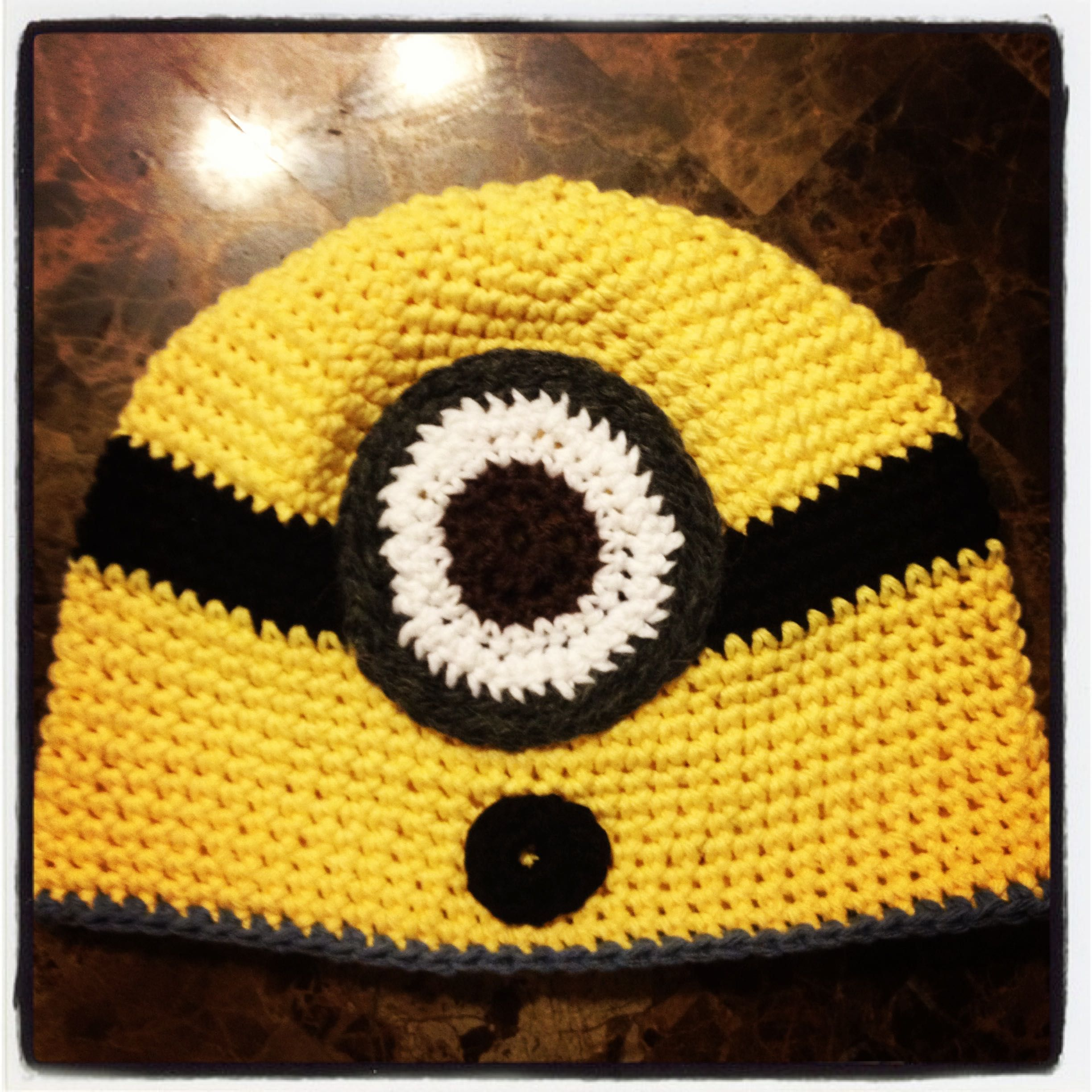 Magnificent Minion Knitting Pattern Hat Image Collection - Blanket ...