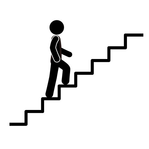Go Up The Stairs Icons Clip Art Free Download Clip Art Stair Climbing Take The Stairs