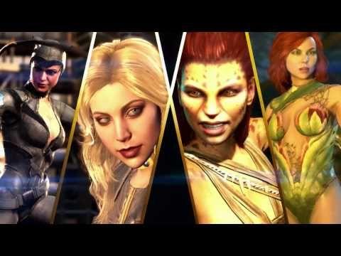 Injustice 2 Girls Trailer Introduces Cheetah Catwoman Sswi Tv Sswi Tv Injustice Injustice2 Gamers Catwoman Injustice 2 Injustice 2 Trailer Catwoman