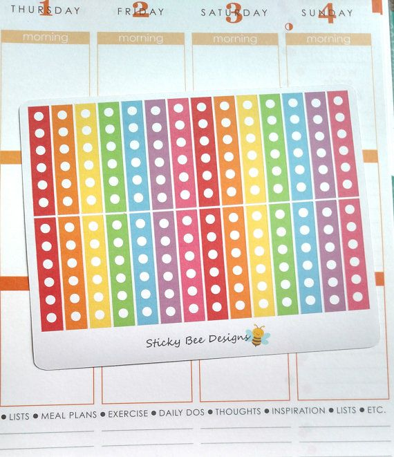 28 Checklist Stickers by StickyBeeDesigns on Etsy