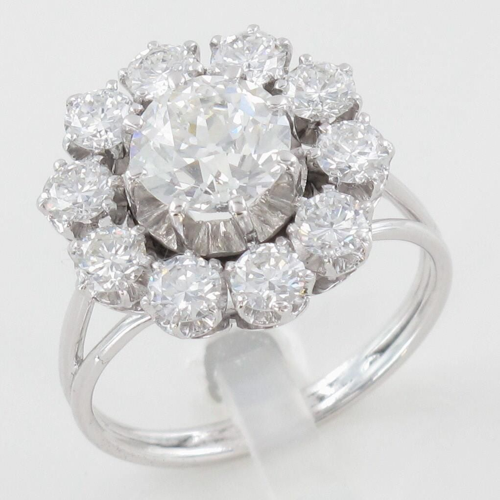 Souvent Marguerite diamants | * BAGUES * | Pinterest | Marguerite, Diamant  AW09