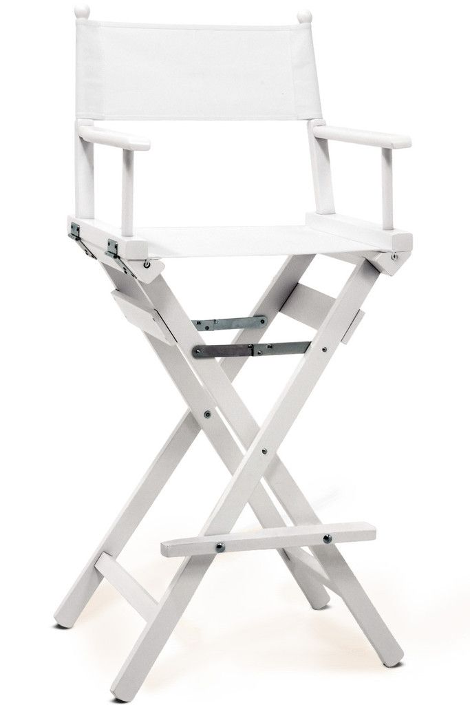 Directors Chair White Swivel Base For Pro Makeup Personalise Online 29 Rooms Pinte More