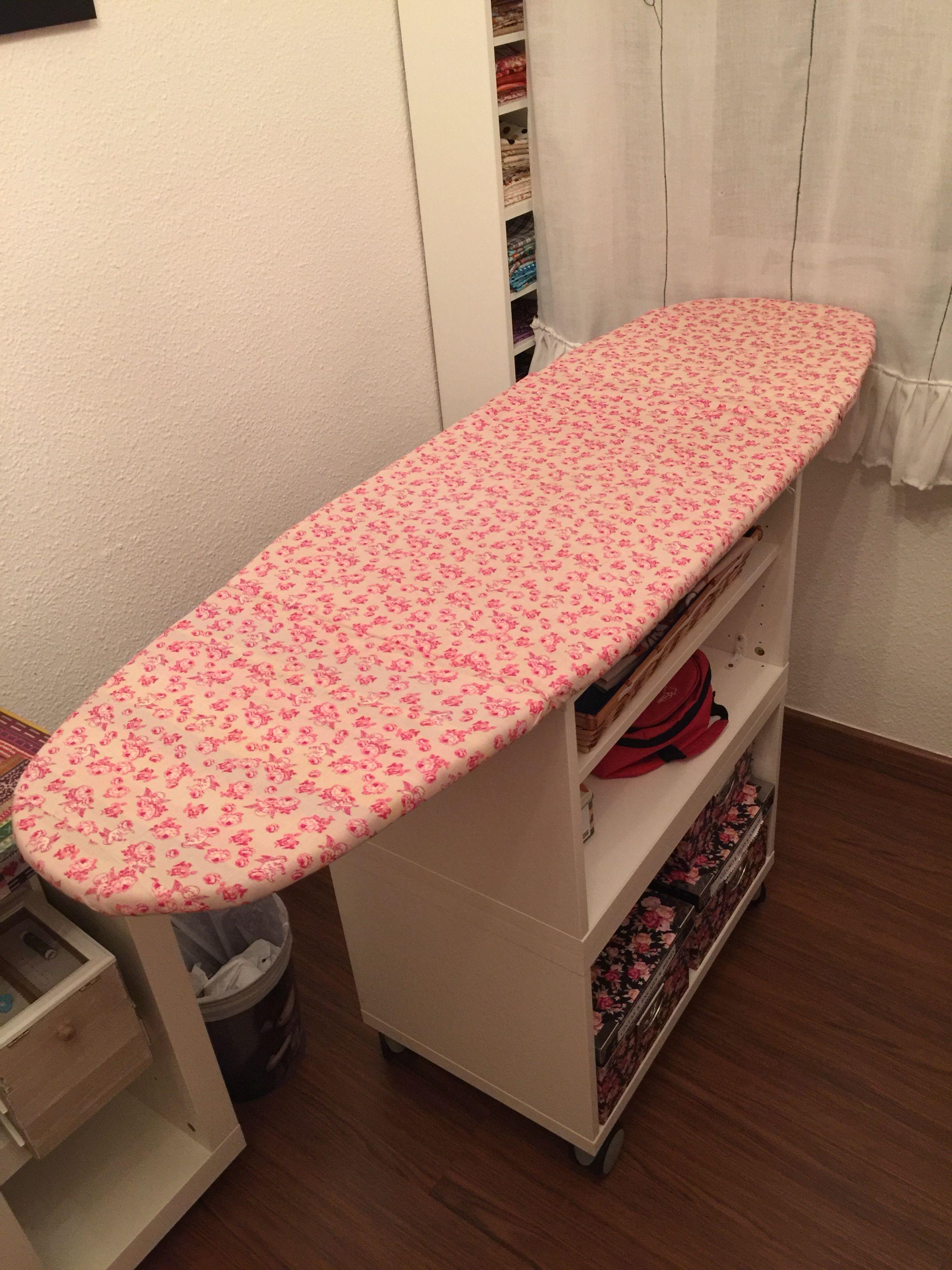 Mi tabla de planchar plegable hecha por mi todas las maderas compradas en leroy merlin my - Tabla planchar leroy merlin ...
