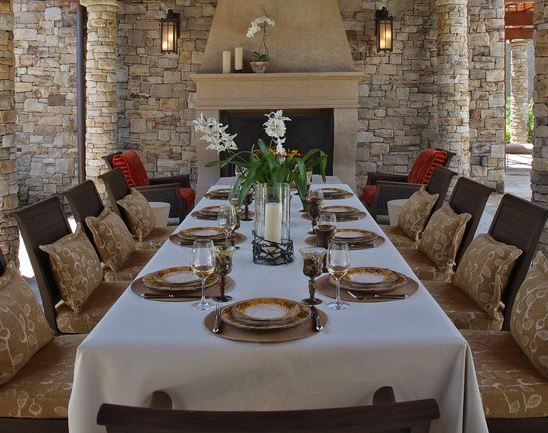 Charmant Setting Dining Table For Dinner