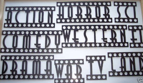 Movie Words Assorted Home Theater Decor Metal Wall Art Home Theater Decor Theater Room Decor Movie Room Decor