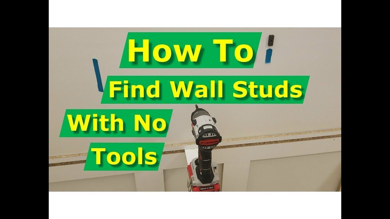 How to find wall studs with no stud finder tools here are