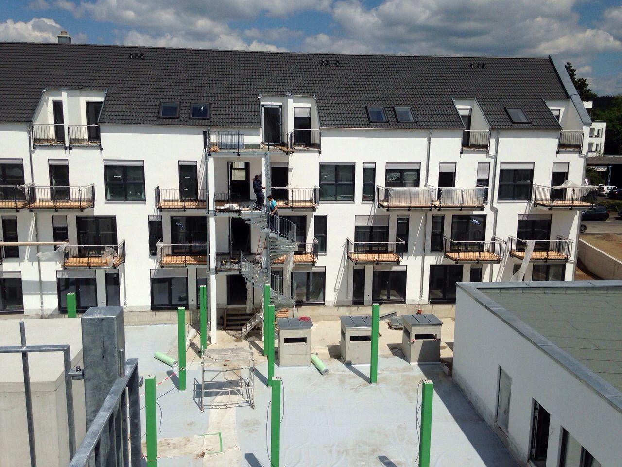 Bautenstand 28.05.2015 Aschaffenburg, Immobilien, Bau